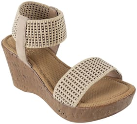 Catwalk Women Beige Wedges