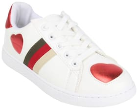 Catwalk White Casual Shoes