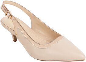 Catwalk Women Beige Pumps