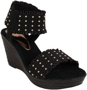 Catwalk Women Synthetic Slip on - Eu 38 , Black