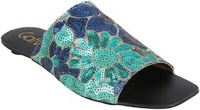 CatwalkBlueSandalsFlats & Sandals