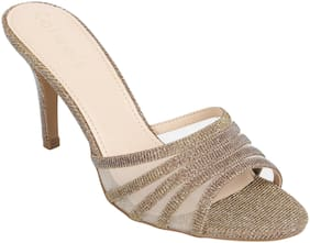Catwalk Women Bronze Sandals