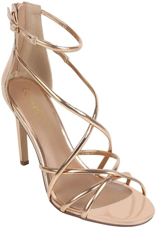 Catwalk Women Gold Gladiators
