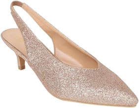 Catwalk Women Gold Pumps