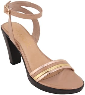 Catwalk Women Nude Sandals