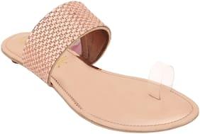Catwalkrose goldEthnicFlats & Sandals