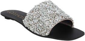 Catwalk Women Silver Sandals