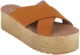 Catwalk Women Tan Sandals