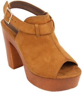 Catwalk Women Tan Sandals