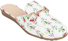 Catwalk Women White Sandals