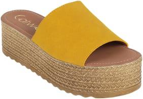Catwalk Women Yellow Sandals