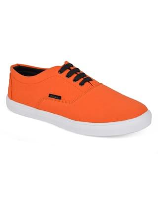 Foax Men Orange Casual Shoes
