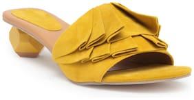Chalk Studio Women Yellow Sandals