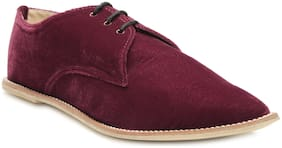 Chalk Studio Women Maroon Casual Shoes -