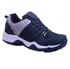 Chevit 445 Men Blue Sneakers