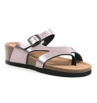 91aa5cf7dcf3d6 Buy CL BY CARLTON LONDON SYNTHETIC PEWTER color Sandal Online at Low ...