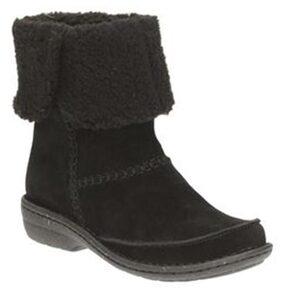 Clarks Women Black Boot