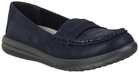 Clarks Women Navy blue Casual Shoes