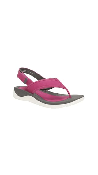 4baf48062 Buy Clarks Women Purple Sandals Online at Low Prices in India ...
