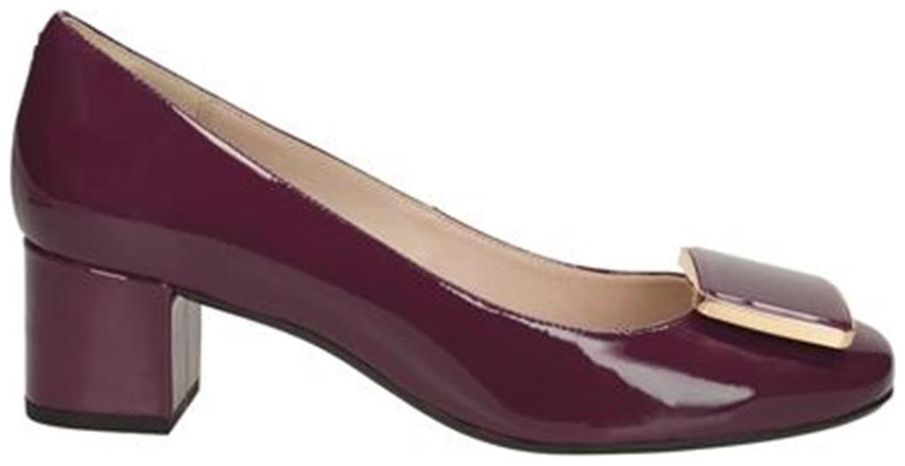Aparecer Shinkan cantidad  Buy Clarks Chinaberry Fun Aubergine Pat Women Heels Online at Low Prices in  India - Paytmmall.com