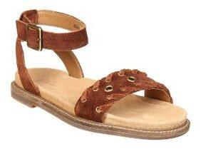 Clarks Women Tan Sandals