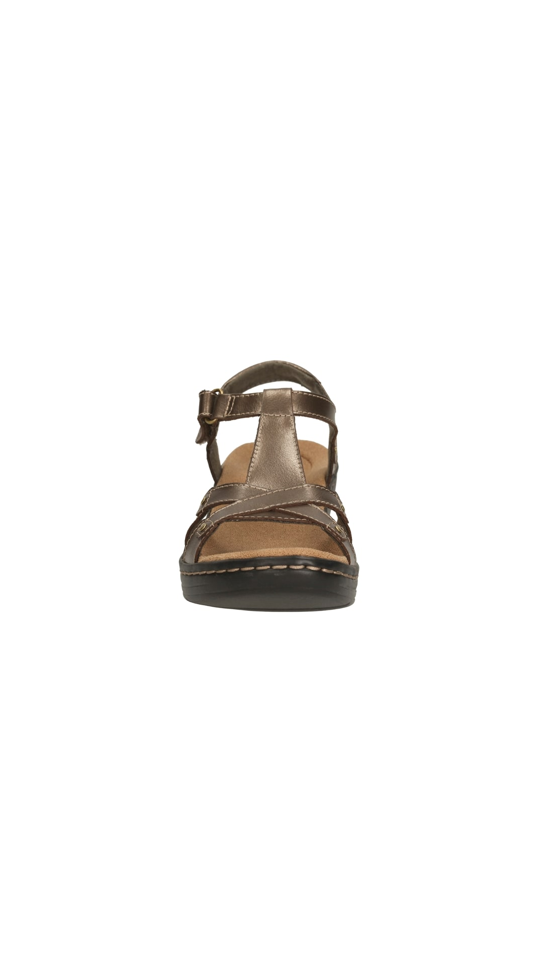 eece158ffef Buy Clarks Hayla Flute Pewter Leather Women Sandals   Floaters Online at  Low Prices in India - Paytmmall.com