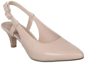 Clarks Women Beige Pumps