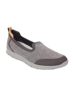Clarks Step Allena Lo Grey Synthetic Casual Shoes