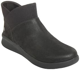 Clarks Women Black Ankle length Boots