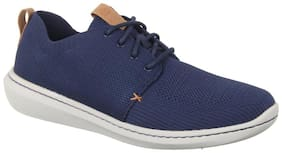 Clarks Men Navy blue Casual Shoes