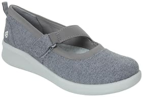 Clarks Women Grey Wedges