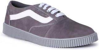 CLOSHO Men Grey Casual Shoes -