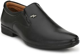 CLOWITE Men Black Slip-On Formal Shoes - HD_092_BLACK - HD_092