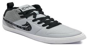 Clymb Champ-1 Grey Casual Sneakers For Men's In Various Sizes