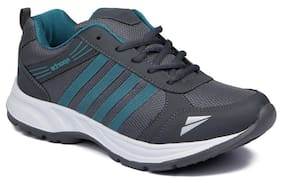 Clymb Men Grey Running Shoes