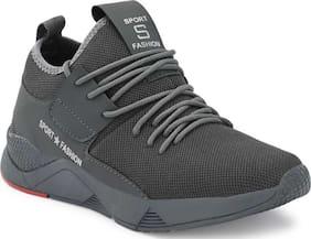 Clymb Men Running Shoes ( Grey )