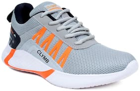 Clymb Men Running Shoes ( Grey )