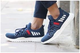 Clymb Men Running Shoes ( Blue )