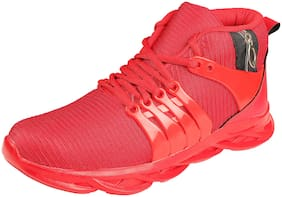 Clymb Men Running Shoes ( Red )