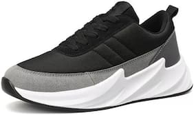 Clymb Men SHARK BLACK GREY Running Shoes ( Black )