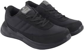 Clymb Men Running Shoes ( Black )