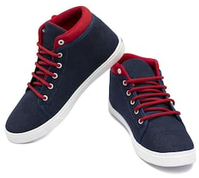 Clymb Men Blue Sneakers
