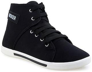 Clymb Men's Boxer Black  Sneakers