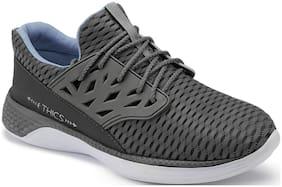 Clymb Men's Soorma Grey Walking Runiing Sports Shoes