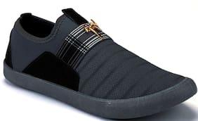 Clymb Men Grey Casual Shoes