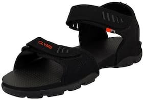 Clymb Men Black Sandals