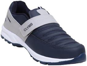 Clymb Men Running Shoes ( Navy Blue )