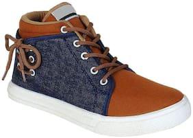 Clymb Men Brown Sneakers