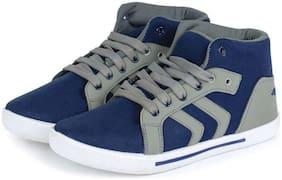 Clymb Arrow Blue Grye Men Blue Sneakers -