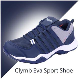 Clymb Men Dangal Navy Running Shoes ( Navy Blue )